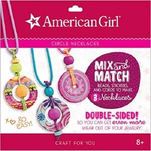 AMERICAN GIRL CIRCLE NECKLACE CRAFT SET (Makes 3)